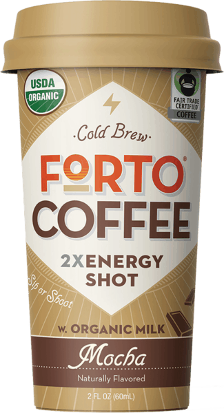 $0.50 for Forto® Coffee Shots (expiring on Tuesday, 07/10/2018). Offer available at multiple stores.
