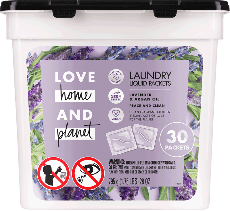 $4.00 for Love Home and Planet™ Laundry Packets. Offer available at Target.