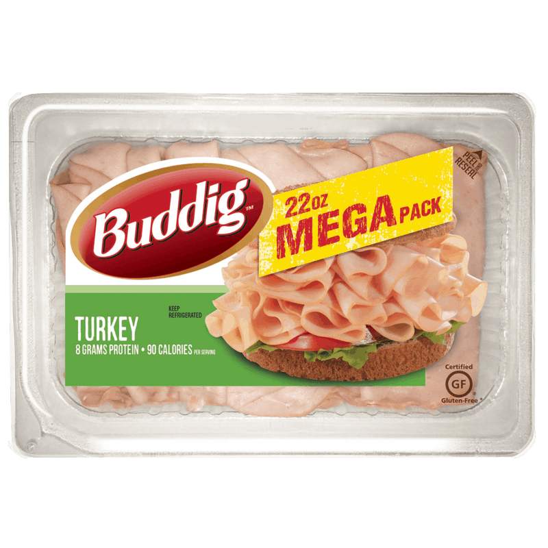 $1.00 for Buddig Mega Pack Lunchmeat (expiring on Thursday, 08/27/2020). Offer available at multiple stores.