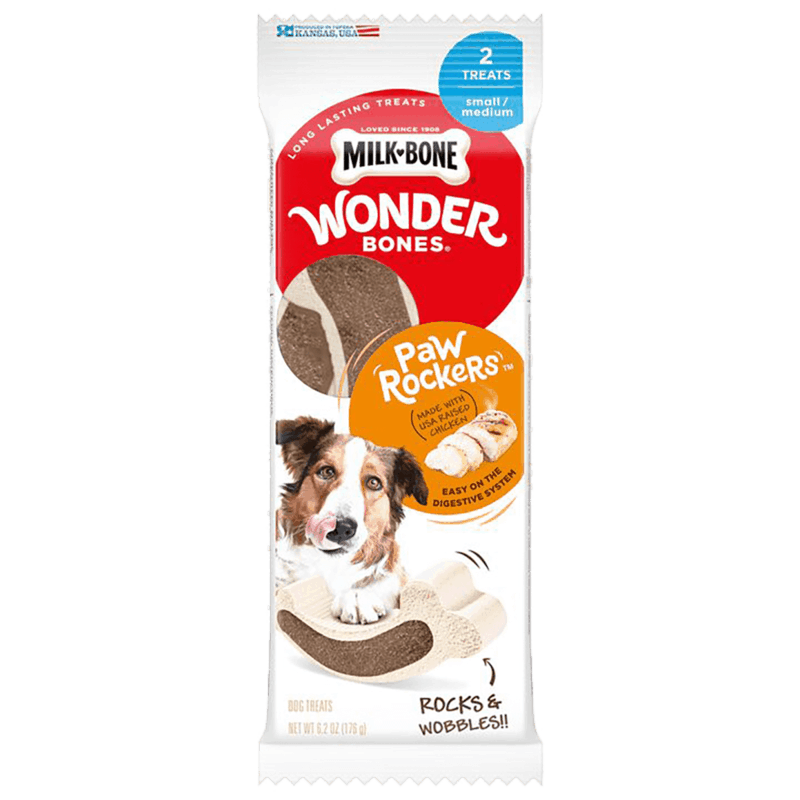 $0.50 for Milk-Bone Wonder Bones (expiring on Wednesday, 04/15/2020). Offer available at multiple stores.