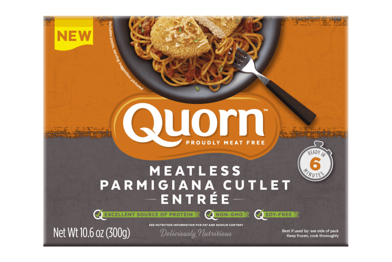 $2.00 for Quorn Meatless Parmigiana. Offer available at Kroger, Giant Eagle, ShopRite, Wegmans, PriceRite.