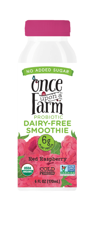 $0.50 for Once Upon a Farm Probiotic Dairy-Free Smoothie (expiring on Friday, 07/31/2020). Offer available at multiple stores.