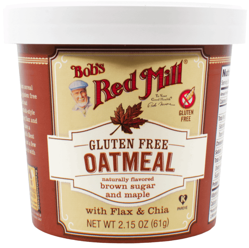 $0.75 for Bob's Red Mill Oatmeal Cups (expiring on Saturday, 10/31/2020). Offer available at Walmart, Walmart Grocery.