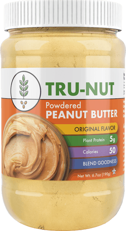$0.50 for Tru-Nut Powdered Peanut Butter (expiring on Thursday, 12/31/2020). Offer available at Publix, Harris Teeter, Food Lion, Redner's Markets, Tops.