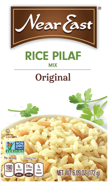 $0.35 for Near East® Rice Pilaf. Offer available at Walmart.