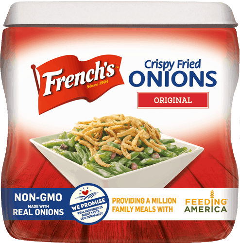 $0.50 for French's® Crispy Fried Onions or Crispy Veggies (expiring on Saturday, 01/27/2018). Offer available at multiple stores.
