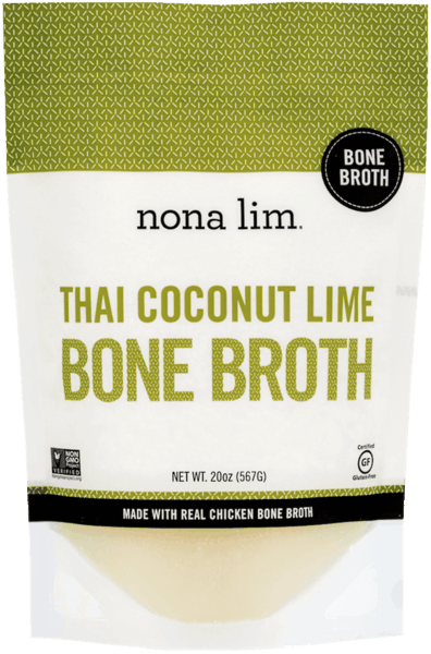 $2.00 for Nona Lim Bone Broth (expiring on Wednesday, 10/02/2019). Offer available at Wegmans.