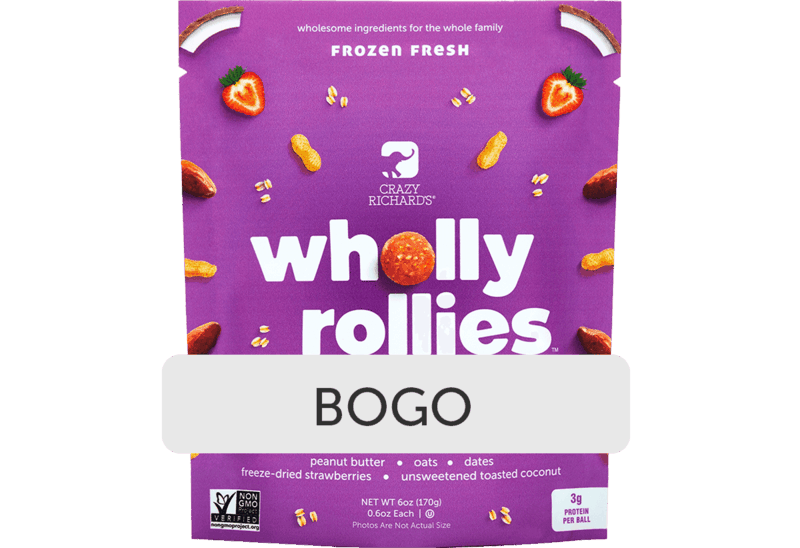 $3.97 for Crazy Richards Wholly Rollies. Offer available at Walmart, Walmart Pickup & Delivery.