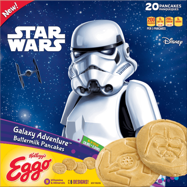 $1.00 for Eggo® Pancakes. Offer available at Walmart.