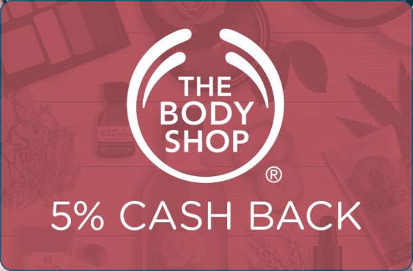 $0.00 for The Body Shop (expiring on Saturday, 02/29/2020). Offer available at The Body Shop.
