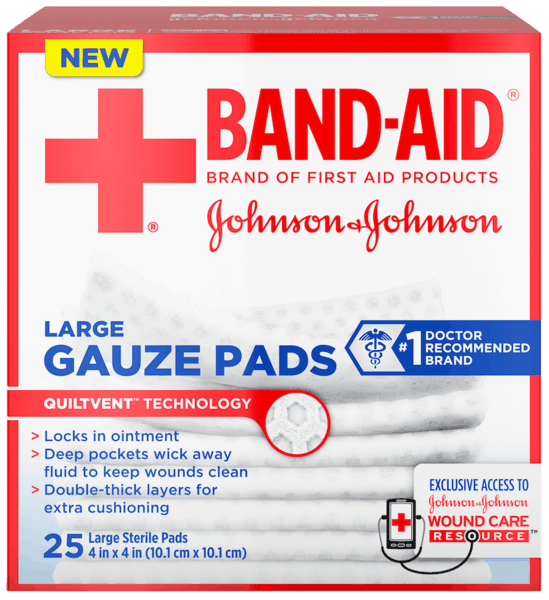 $1.00 for BAND-AID® Brand Gauze Pads (expiring on Tuesday, 11/27/2018). Offer available at Walmart.