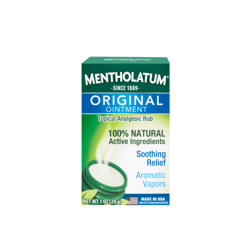 $0.50 for Mentholatum Original Vaporizing Chest Rub (expiring on Sunday, 03/01/2020). Offer available at multiple stores.