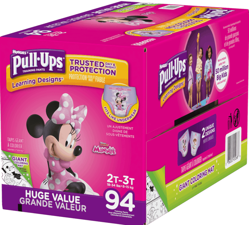 $3.00 for HUGGIES Pull-Ups (expiring on Thursday, 07/02/2020). Offer available at Walmart.