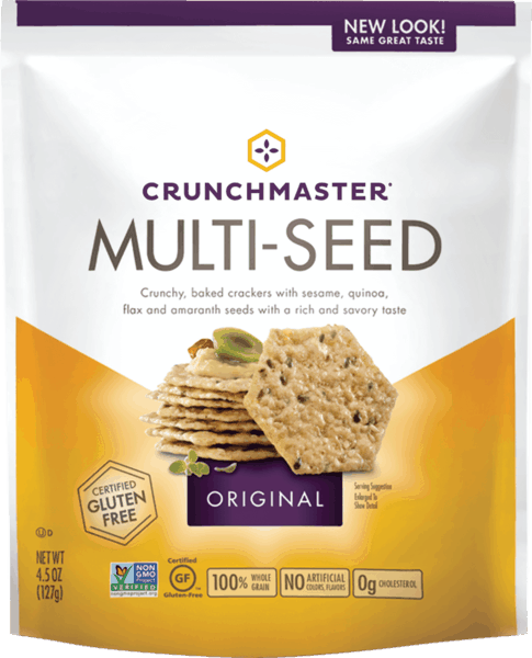 $0.50 for Crunchmaster® (expiring on Sunday, 01/05/2020). Offer available at multiple stores.