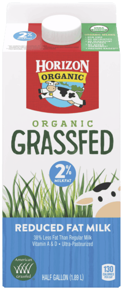 $1.00 for Horizon® Organic Grassfed Milk (expiring on Friday, 09/14/2018). Offer available at Walmart.