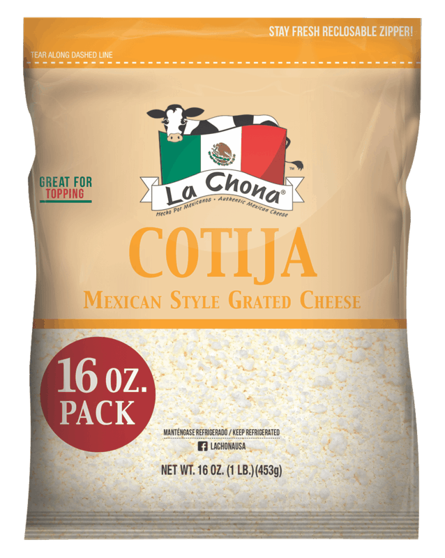 $0.50 for La Chona Cotija Cheese (expiring on Tuesday, 09/08/2020). Offer available at Walmart, Walmart Grocery.