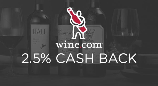 $0.00 for Wine.com (expiring on Thursday, 10/03/2019). Offer available at Wine.com.