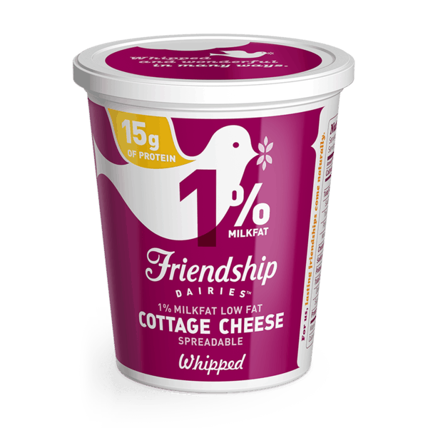 $1.00 for Friendship Dairies® Cottage Cheese (expiring on Tuesday, 07/02/2019). Offer available at multiple stores.