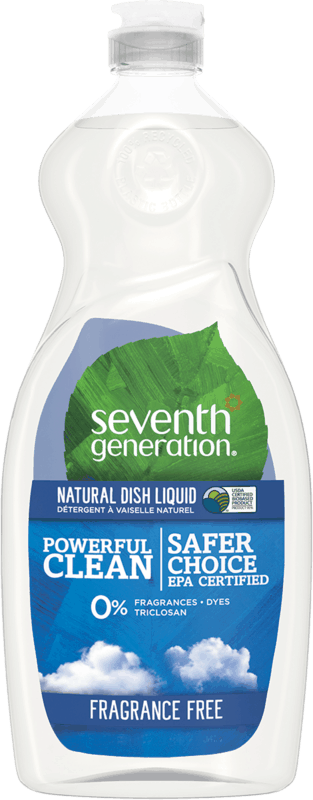$0.50 for Seventh Generation™ Dish Liquid (expiring on Saturday, 08/10/2019). Offer available at Walmart.