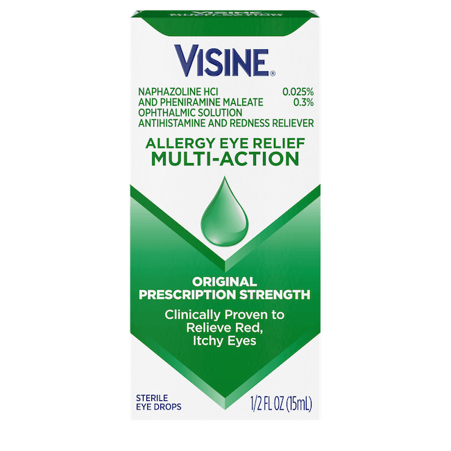 $1.50 for VISINE Eye Drops (expiring on Wednesday, 04/29/2020). Offer available at multiple stores.