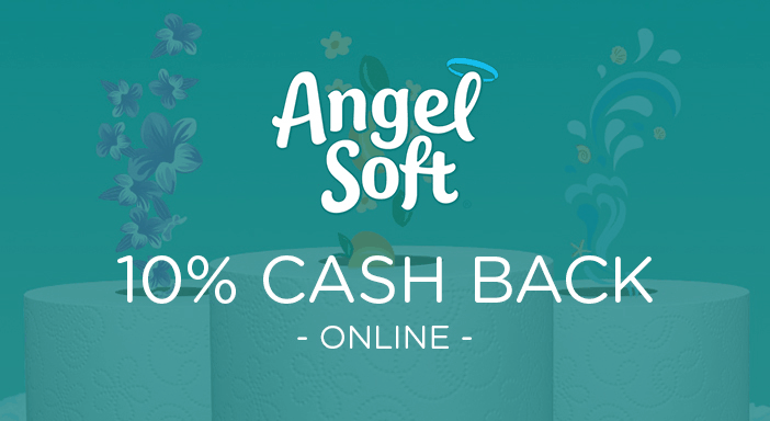 $0.00 for Angel Soft® (expiring on Sunday, 01/31/2021). Offer available at Angel Soft.