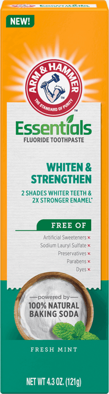 $1.00 for Arm & Hammer Essentials Toothpaste (expiring on Wednesday, 08/04/2021). Offer available at Walmart, Walmart Pickup & Delivery.