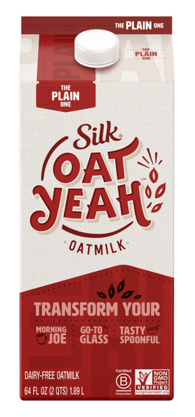 $1.00 for Silk® Oat Yeah™ Oatmilk (expiring on Wednesday, 10/02/2019). Offer available at multiple stores.
