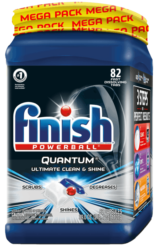 $1.50 for FINISH® Quantum®. Offer available at Walmart.