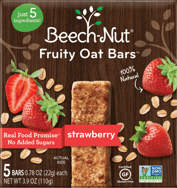 $0.50 for Beech-Nut® Fruity Oat Bars. Offer available at multiple stores.