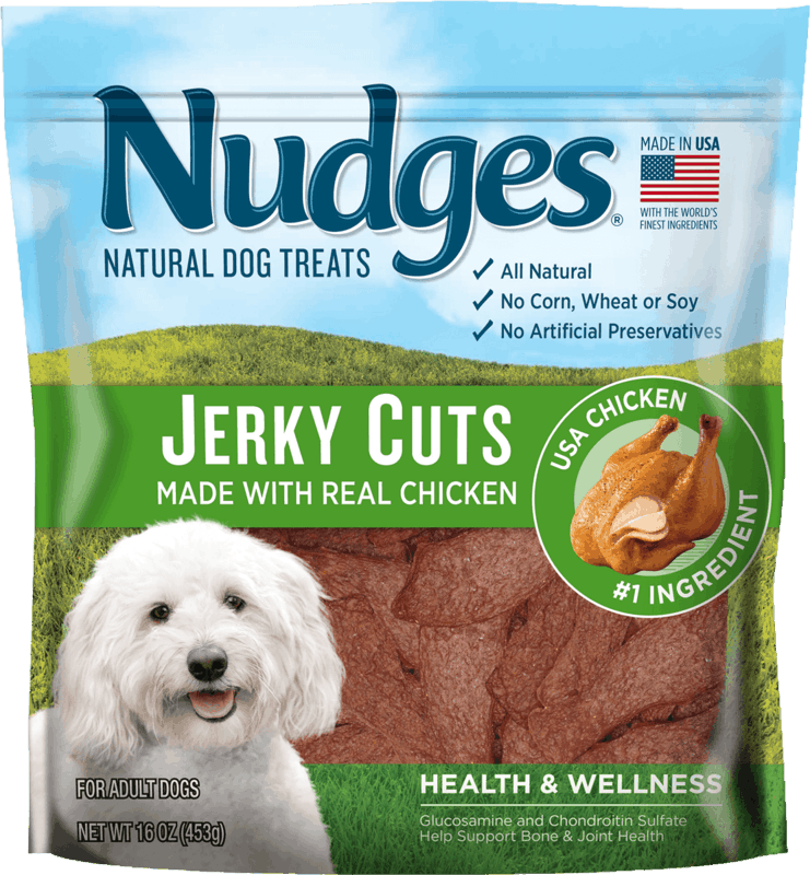 $1.50 for Nudges Dog Treats (expiring on Thursday, 02/06/2020). Offer available at Walmart.