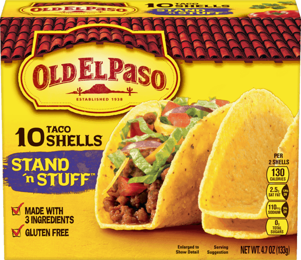 $0.75 for Old El Paso™ Taco Shells (expiring on Thursday, 05/02/2019). Offer available at Walmart.