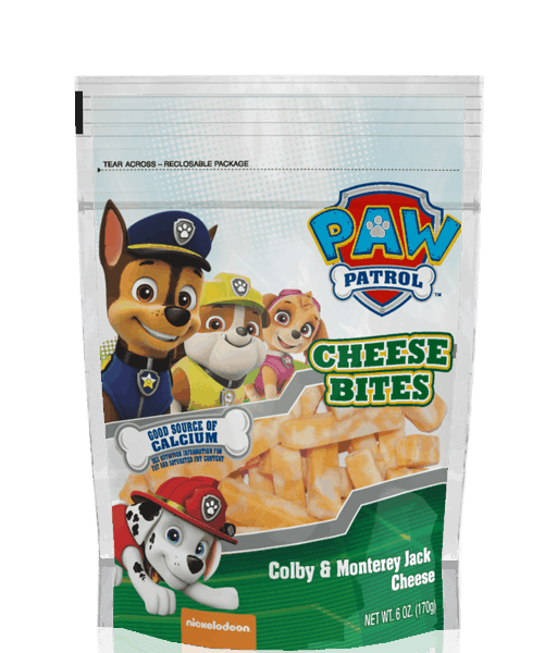 $0.75 for Paw Patrol™ Cheese Bites (expiring on Tuesday, 05/30/2017). Offer available at Walmart.