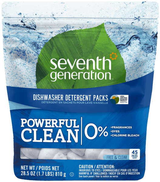 $1.50 for Seventh Generation™ Dishwasher Detergent. Offer available at multiple stores.