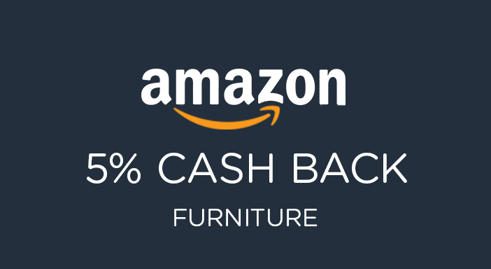$0.00 for Amazon Furniture (expiring on Tuesday, 12/31/2019). Offer available at Amazon.