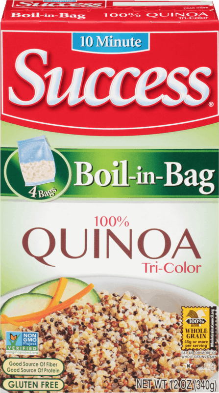 $0.50 for Success Boil-in-Bag Rice or Quinoa (expiring on Thursday, 02/13/2020). Offer available at Walmart.