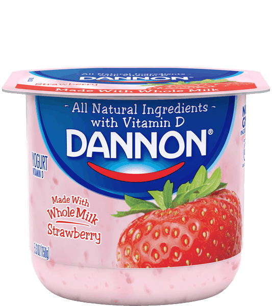 $0.50 for Dannon® Whole Milk Yogurt (expiring on Sunday, 07/30/2017). Offer available at multiple stores.