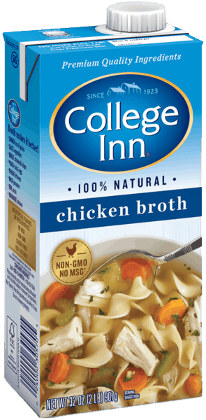 $0.50 for College Inn® Broth and Stock (expiring on Sunday, 06/02/2019). Offer available at Walmart.