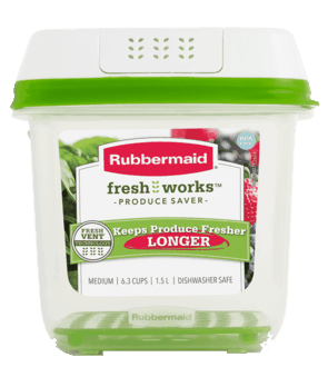 $2.00 for Rubbermaid FreshWorks Food Storage Containers (expiring on Saturday, 10/31/2020). Offer available at multiple stores.