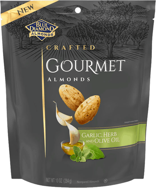 $2.00 for Blue Diamond® Gourmet Almonds. Offer available at Walmart.