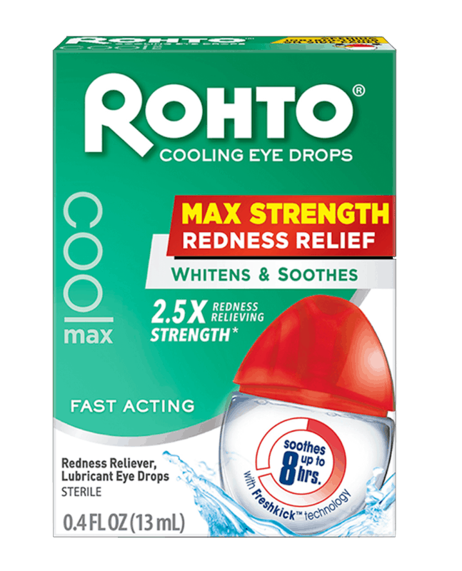 $1.00 for Rohto Eye Drops (expiring on Thursday, 05/28/2020). Offer available at Target, Walmart, Walmart Grocery.
