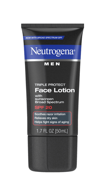 $1.50 for Neutrogena® Men Face Lotion. Offer available at multiple stores.