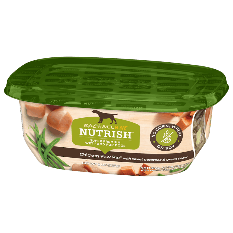 $0.50 for Rachael Ray Nutrish Wet Dog Food (expiring on Sunday, 04/12/2020). Offer available at multiple stores.