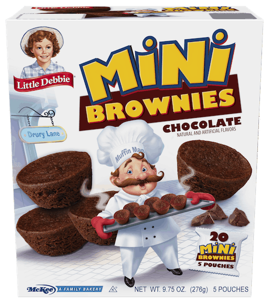 $0.50 for Little Debbie® Mini Brownies (expiring on Friday, 11/02/2018). Offer available at multiple stores.