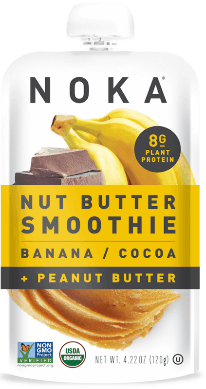 $0.25 for Noka Nut Butter Smoothies (expiring on Monday, 01/31/2022). Offer available at multiple stores.