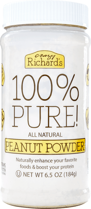 $0.50 for Crazy Richard's Peanut Butter Powder (expiring on Saturday, 01/30/2021). Offer available at Walmart, Walmart Grocery.