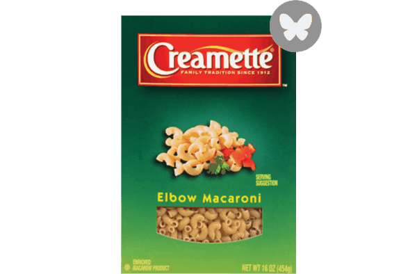 $0.50 for Creamette® Pasta. Offer available at Walmart.