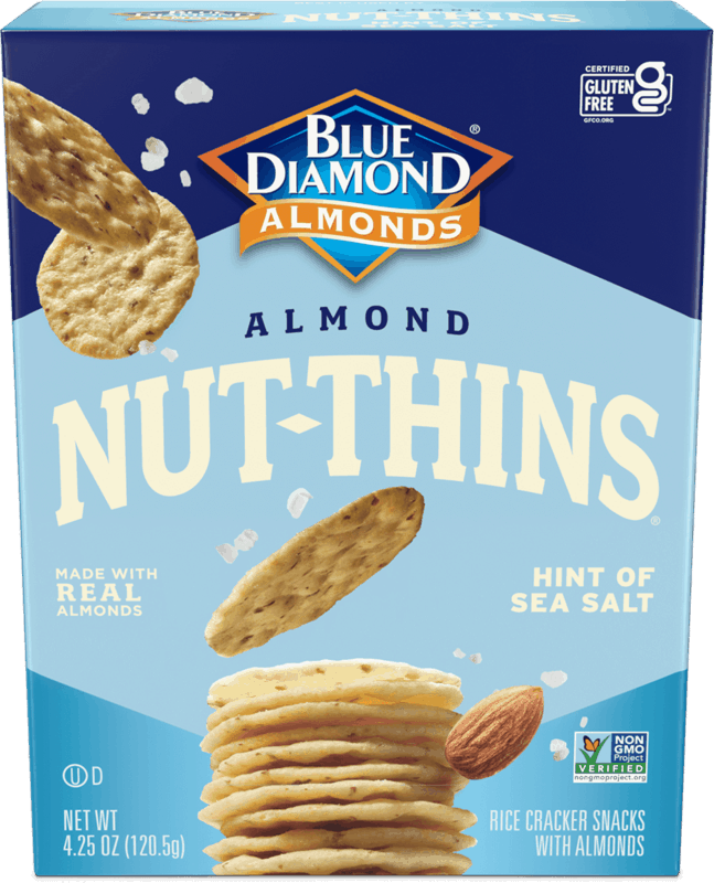 $0.50 for Blue Diamond Nut Thins (expiring on Friday, 06/04/2021). Offer available at Walmart, Walmart Pickup & Delivery.
