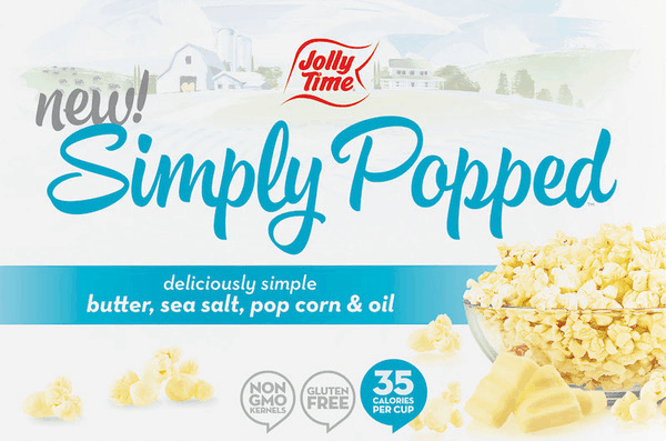 $1.00 for JOLLY TIME® Simply Popped™ Microwave Pop Corn (expiring on Friday, 11/02/2018). Offer available at multiple stores.
