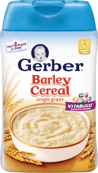 $0.75 for Gerber® Cereal (expiring on Friday, 10/20/2017). Offer available at Walmart.