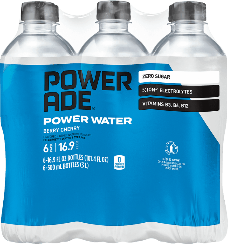 $0.92 for Powerade Power Water (expiring on Monday, 01/11/2021). Offer available at Walmart Grocery.